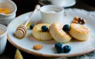 Сырники: калорийность, содержание белков, жиров, углеводов