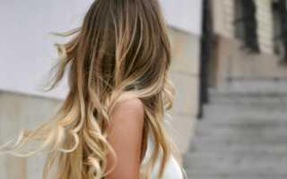 Окрашивание омбре на русые волосы с фото и видео