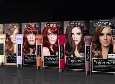 Палитра цветов краски для волос Лореаль Преферанс с фото и отзывами