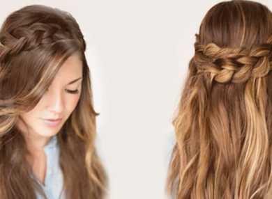 Как делать простые, быстрые и легкие прически на длинные волосы