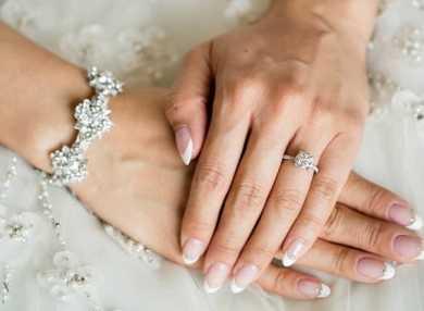 Модный свадебный маникюр с видео и фото