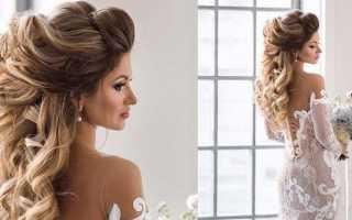 Лучшие свадебные прически на длинные волосы с пошаговыми фото