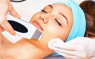 Как делают ультразвуковую чистку лица — фото, видео, показания и противопоказания