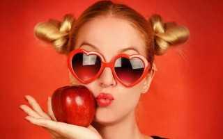 Все о калорийности яблока