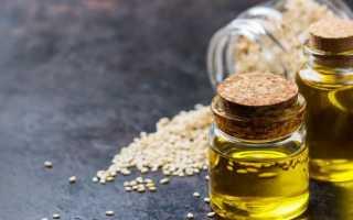 Кунжутное масло: свойства, польза и вред, как правильно принимать