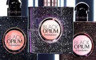 Женские духи Опиум с описанием ароматов и отзывами