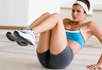 Гимнастика для похудения в домашних условиях