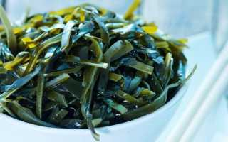 Какая калорийность морской капусты и как ее употреблять