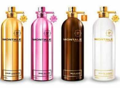 Духи Монталь (Montale) с описанием ароматов