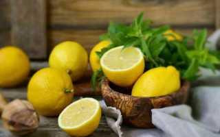 Какая калорийность лимонов и как их употреблять