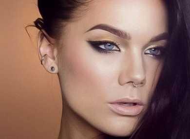 Техника и виды макияжа кошачий глаз с фото и видео