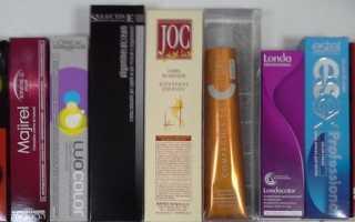 Рейтинг лучших профессиональных красок для волос с отзывами