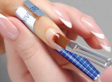 Технология и пошаговая инструкция наращивания ногтей гелем с фото и видео