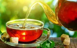 Калорийность разных видов чая