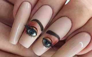 Необычный дизайн для ногтей с видео и фото