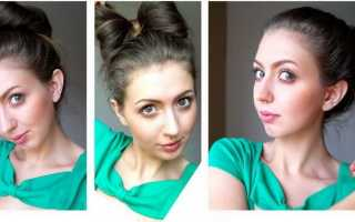 Как делать простые и легкие прически на средние волосы