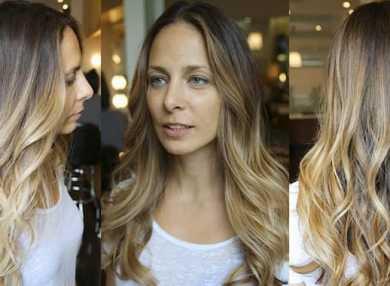 Как сделать брондирование на русые волосы