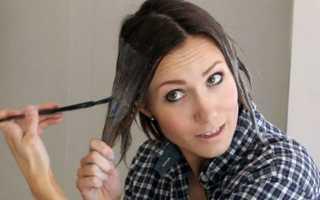 Окрашивание волос омбре в домашних условиях с фото и видео