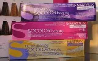 Палитра цветов краски для волос Матрикс с фото и отзывами