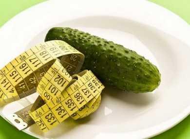 Огуречная диета: основные правила и меню