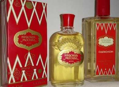 Основные ароматы женских духов Красная Москва и их описание с отзывами