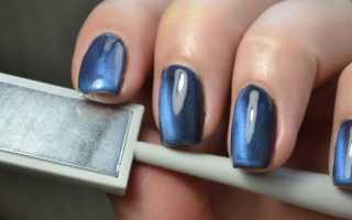 Актуальный дизайн для ногтей в стиле «кошачий глаз» с видео и фото