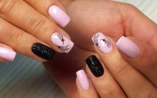 Актуальный дизайн ногтей гель-лаком с видео и фото