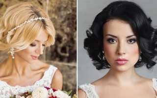 Лучшие свадебные прически на каре с пошаговыми фото