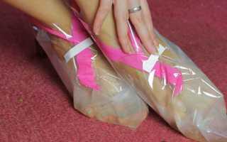 Как использовать отшелушивающие носочки для педикюра