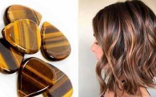 Окрашивание волос «Тигровый глаз» в домашних условиях с фото и видео