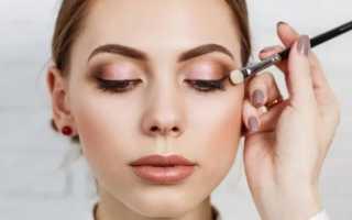 Как правильно красить глаза тенями – пошаговая инструкция с фото