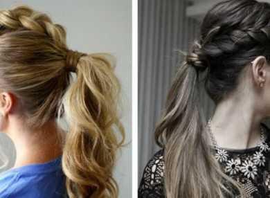 Как делать прически на длинные волосы на каждый день