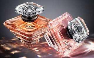 Женские духи Трезор с описанием ароматов и отзывами