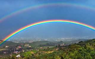 К чему снится радуга: сонник