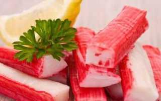 Какая калорийность крабовых палочек и как их употреблять