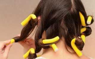 Как правильно накрутить волосы на бигуди-папильотки
