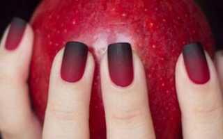 Актуальный дизайн для матовых ногтей с видео и фото