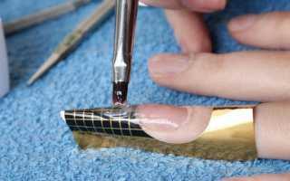 Обучение наращиванию ногтей гелем с уроками на видео для начинающих
