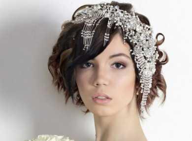 Лучшие свадебные прически на короткие волосы с пошаговыми фото