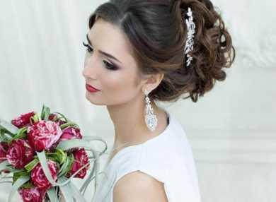 Самые красивые свадебные прически с пошаговыми фото