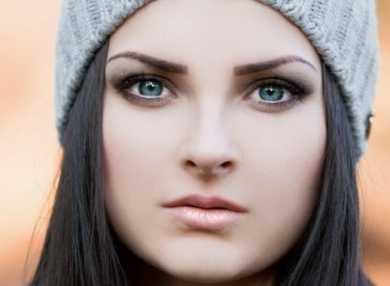 Техника и виды макияжа для серых глаз, с фото и видео