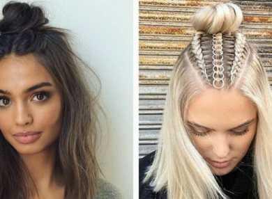 Как сделать прически на средние волосы в домашних условиях с пошаговыми фото