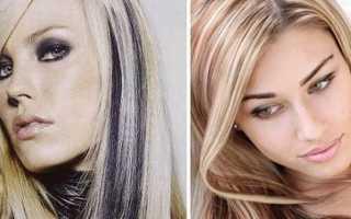 Как сделать мелирование на светлые волосы