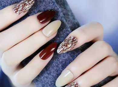 Модный маникюр на длинные ногти с видео и фото