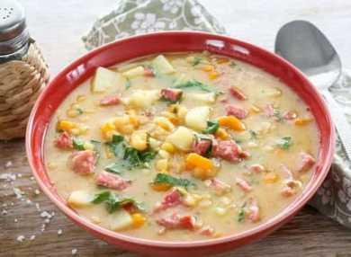 Все о калорийности горохового супа