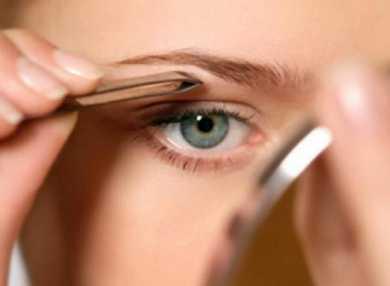 Как правильно выщипать брови в домашних условиях с фото и видео