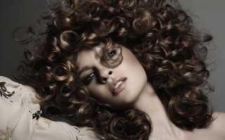 Химическая завивка волос крупными локонами с отзывами и фото