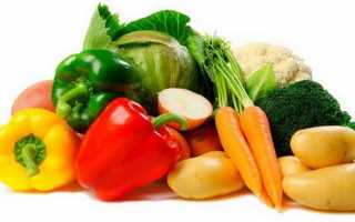 Какая калорийность овощей как их употреблять