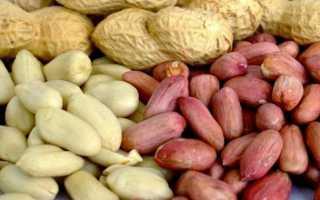 Все о калорийности арахиса