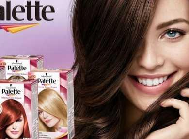 Палитра цветов краски для волос Палет с фото и отзывами